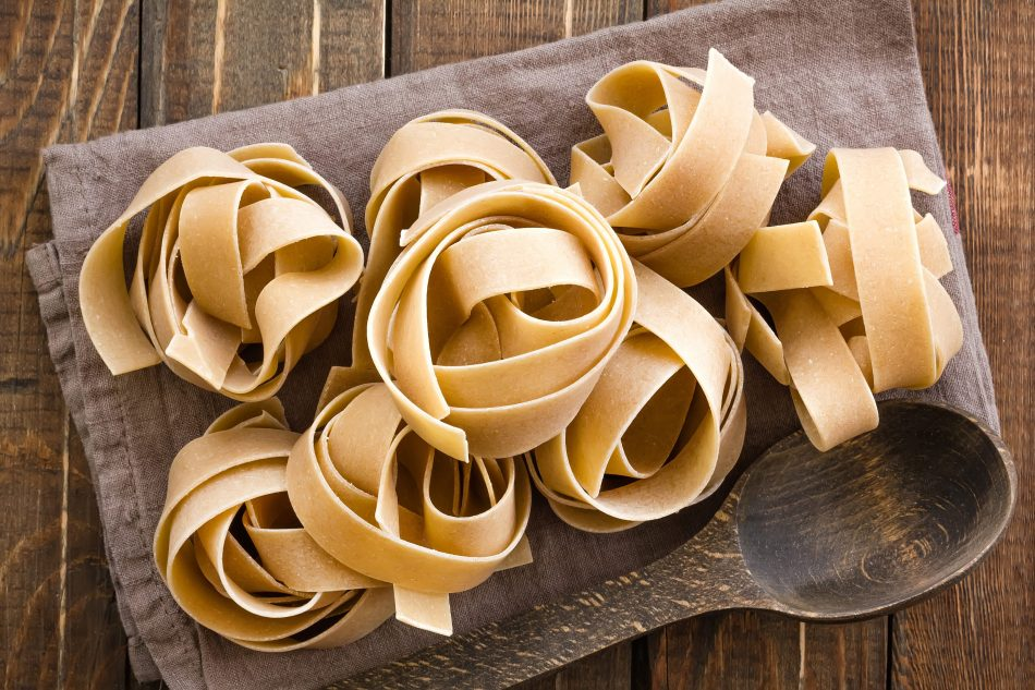 Le pappardelle: 3 idee per gustarle